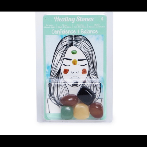 Confidence and balance healing stones